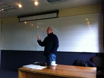 Otro momento de una clase en Valparaíso